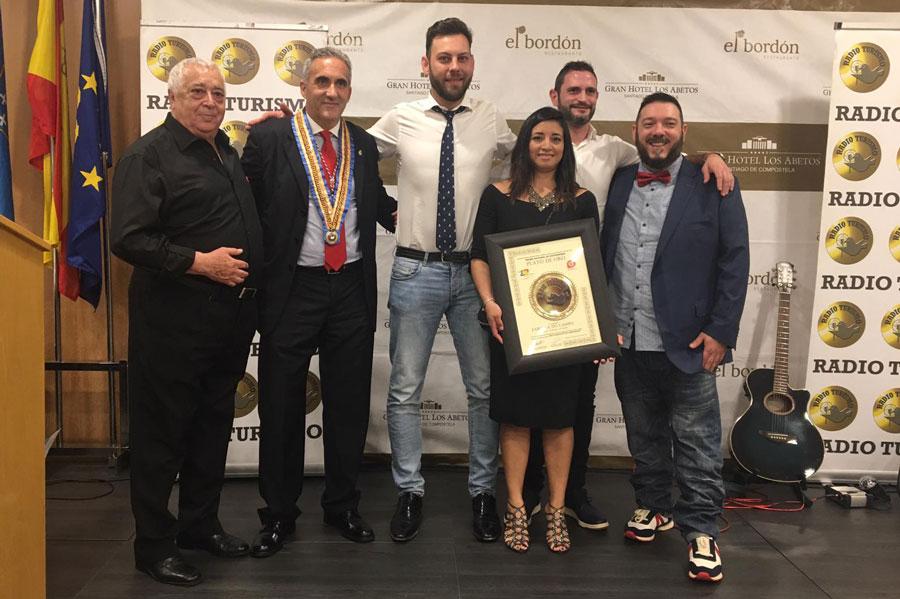 Premio nacional de GASTRONOMIA PLATO DE ORO